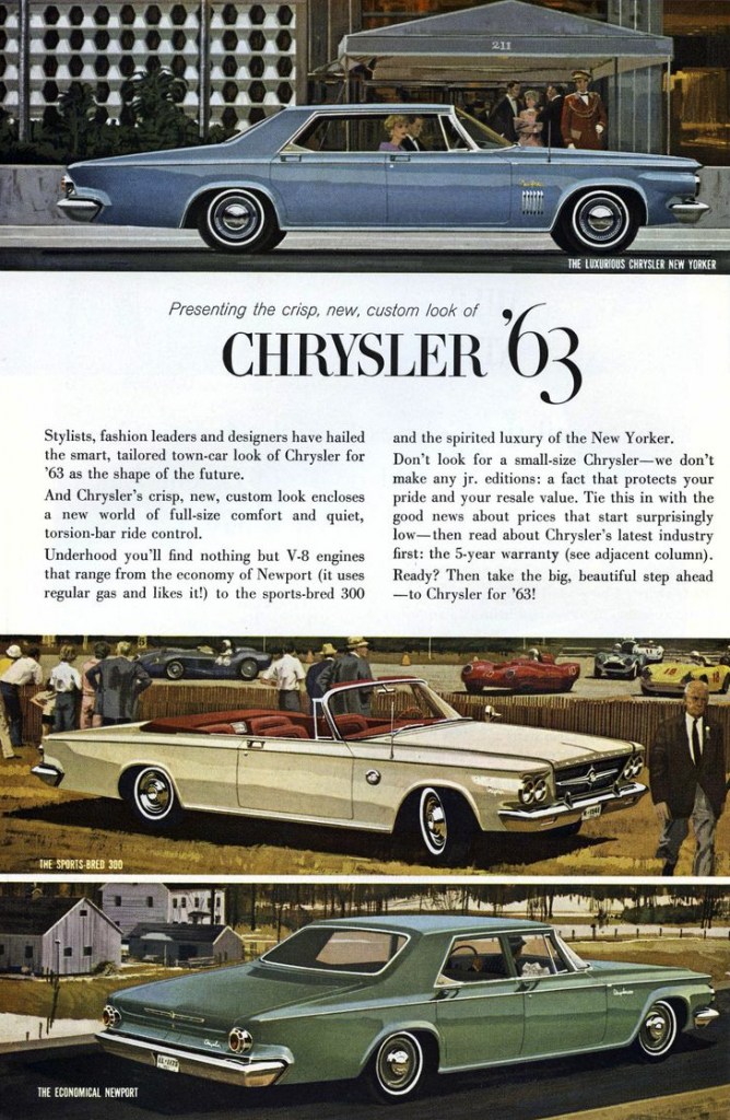 1963 Chrysler Ad