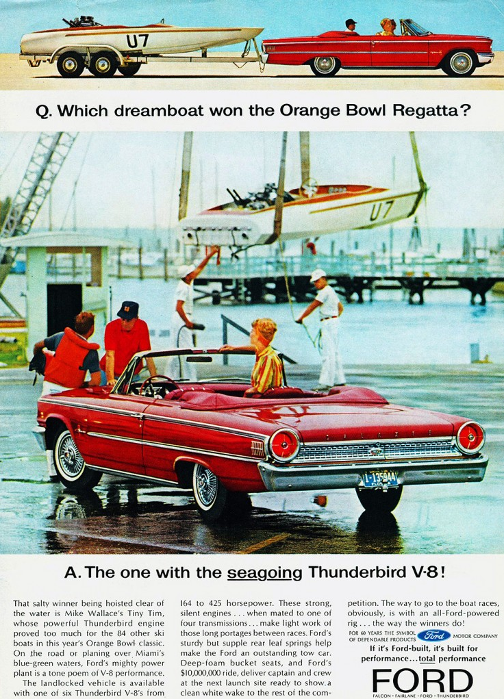 1963 Ford Thunderbird Ad