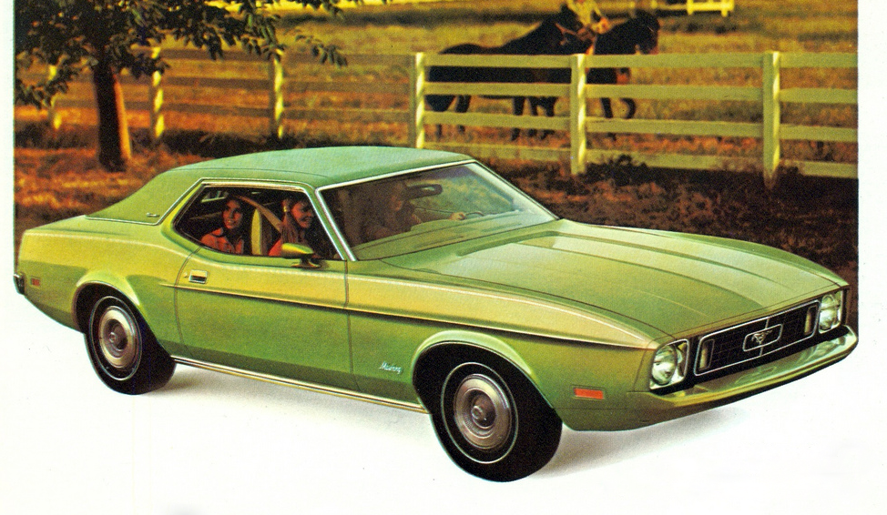 Ford Mustang Grandé, The Sporty Compacts of 1973
