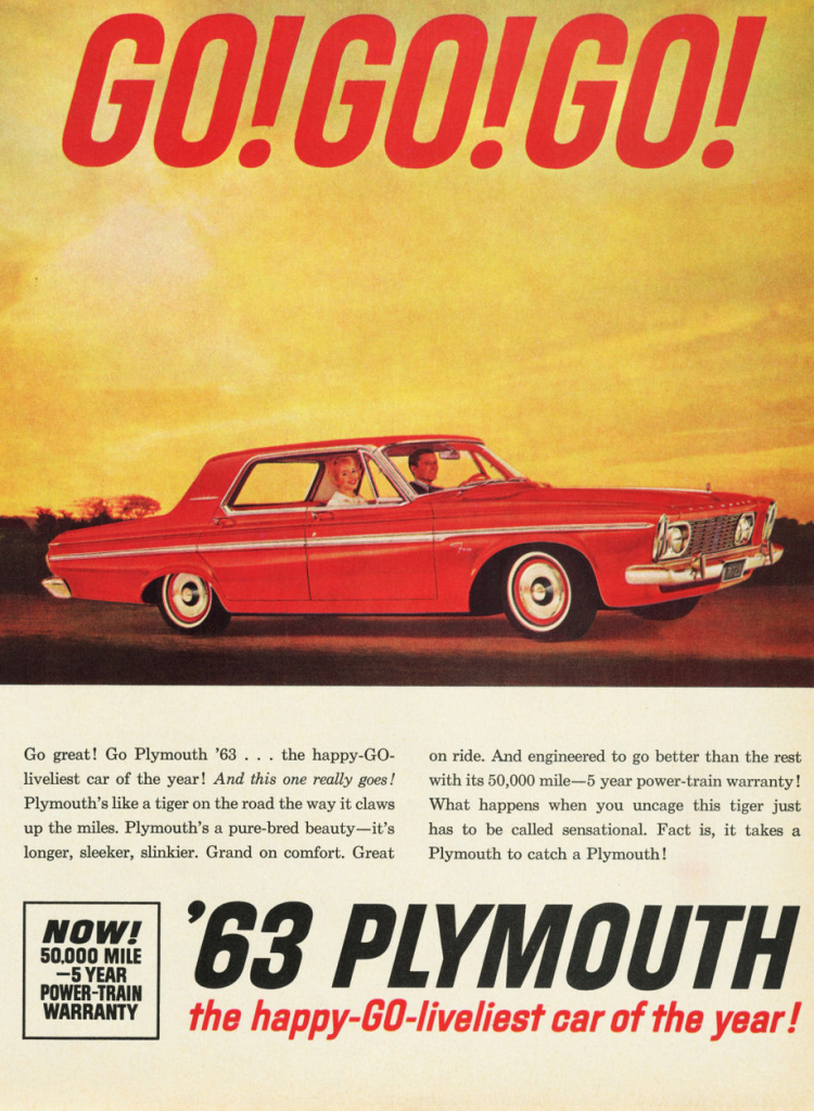 1963 Plymouth Ad