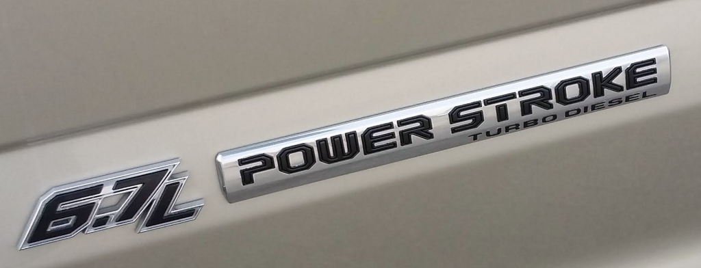 Power Stroke Badge 2017