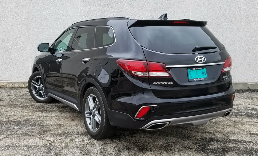 2017 Hyundai Santa Fe Ultimate