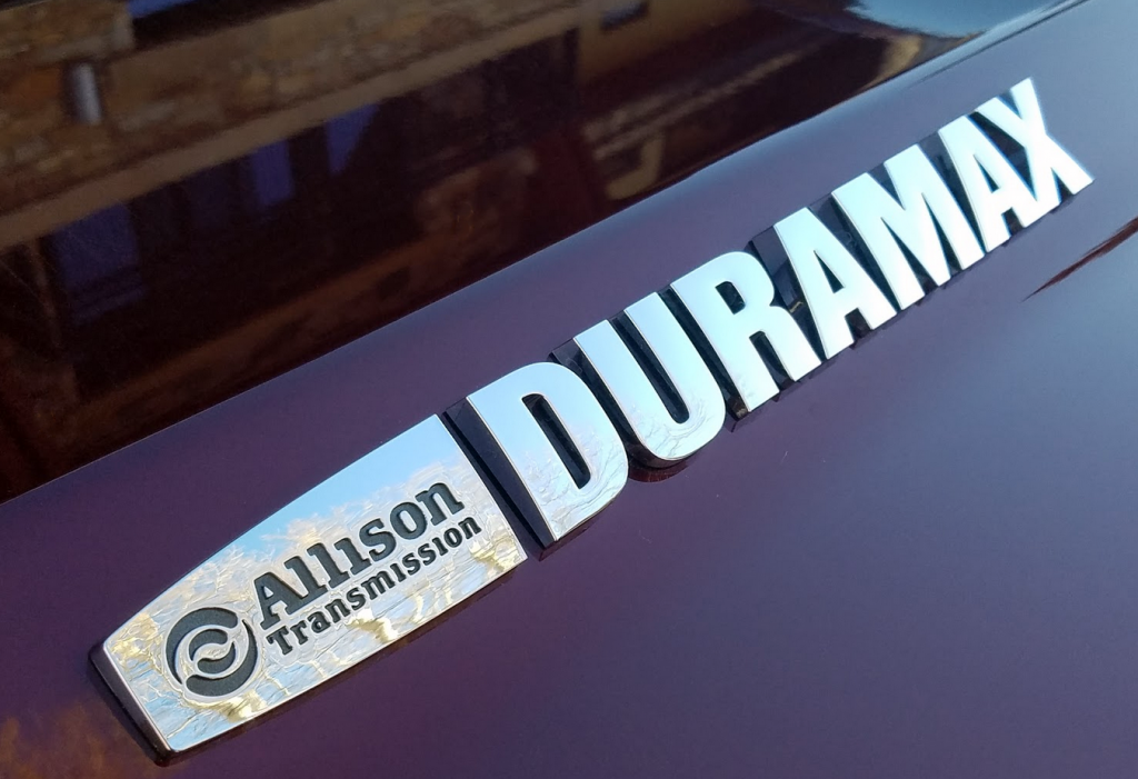 2017 Duramax Engine Hood Badge