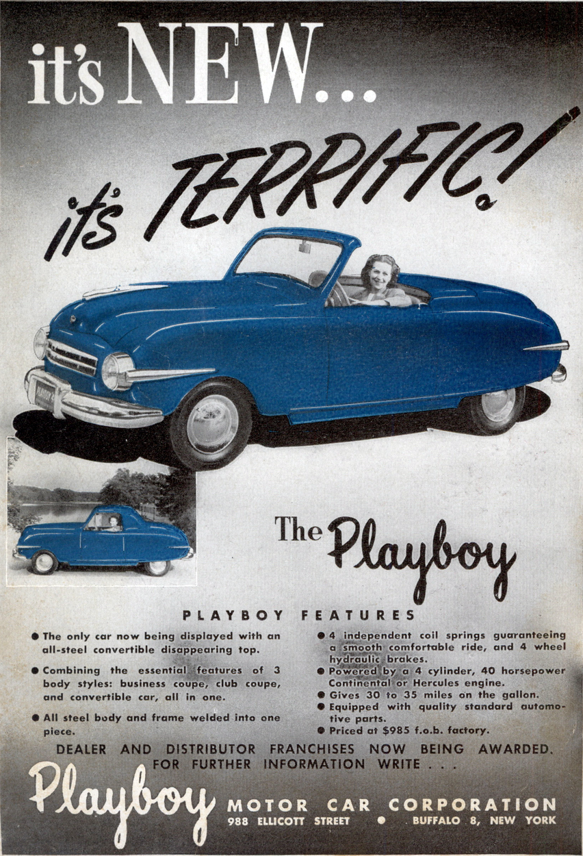 1946 playboy ads ad classic cars featuring consumer drive