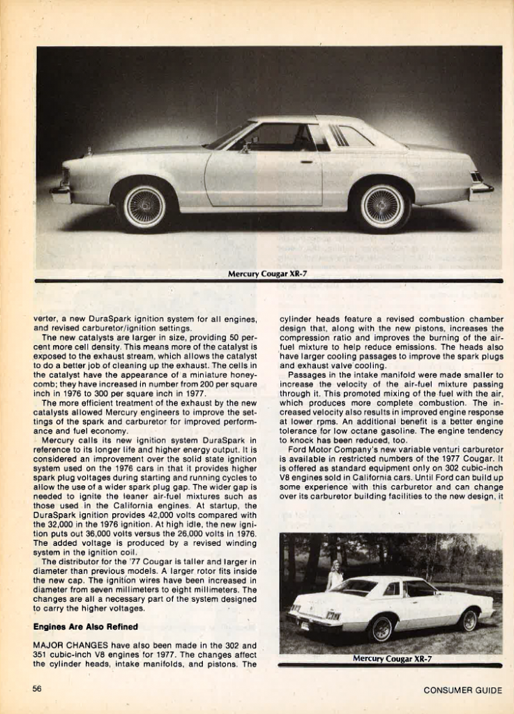 1977 Mercury Cougar Review