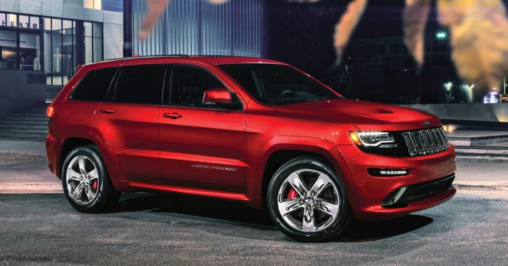 Future Collectibles: 2012 17 Jeep Grand Cherokee SRT8