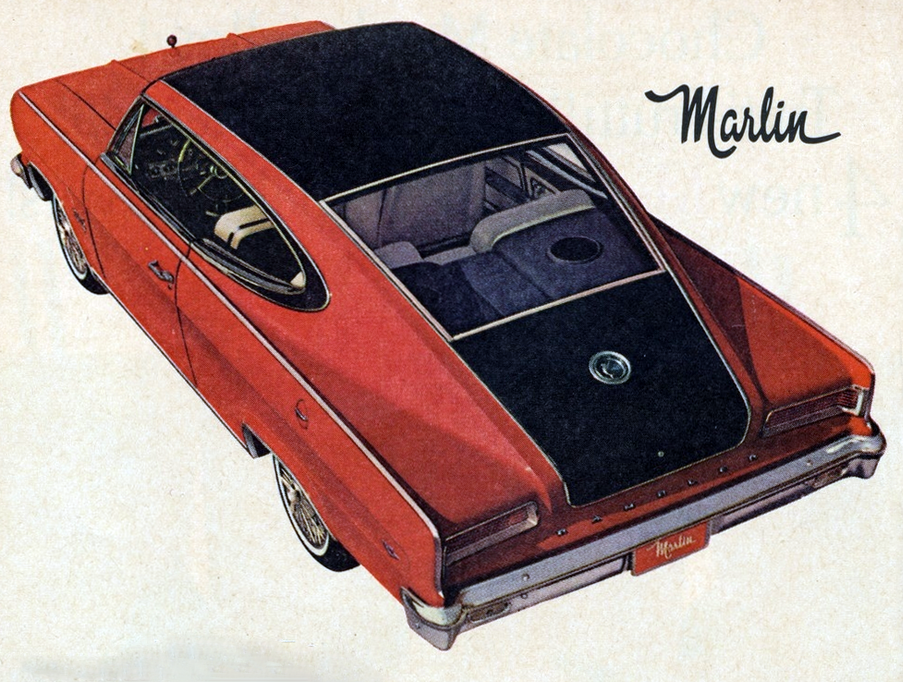 1965 Marlin Ad, Classic Ads From 1965