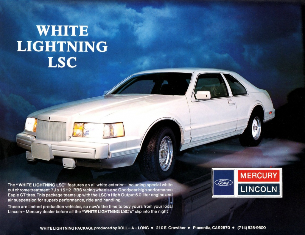 Mark VII White Lightning LSC