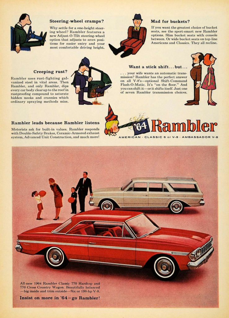 Model Year Madness 10 Classic Ads From 1964 The Daily