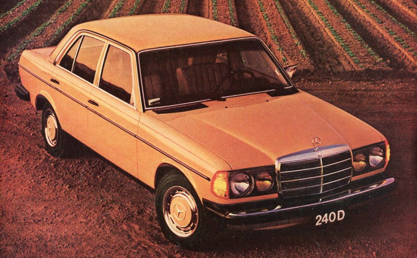 1984 Mercedes-Benz 240D Ad, Luxury Car Ads from 1984