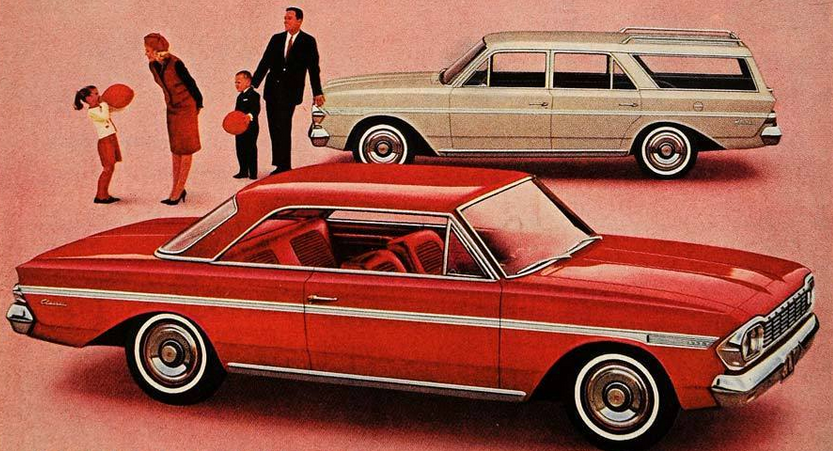 1964 Rambler Ad, Classic Ads From 1964