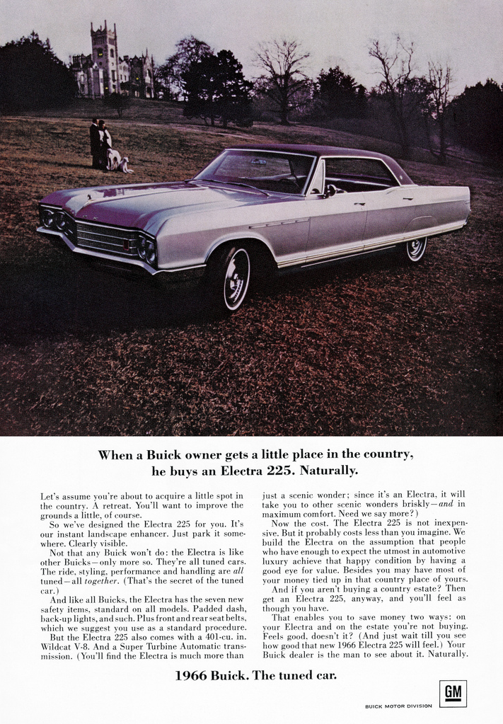1966 Buick Electra 225 Ad