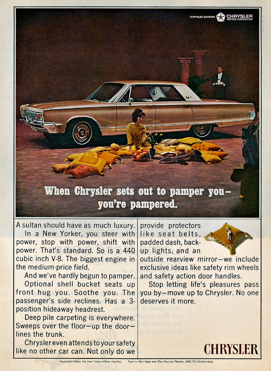 1966 Chrysler New Yorker Ad