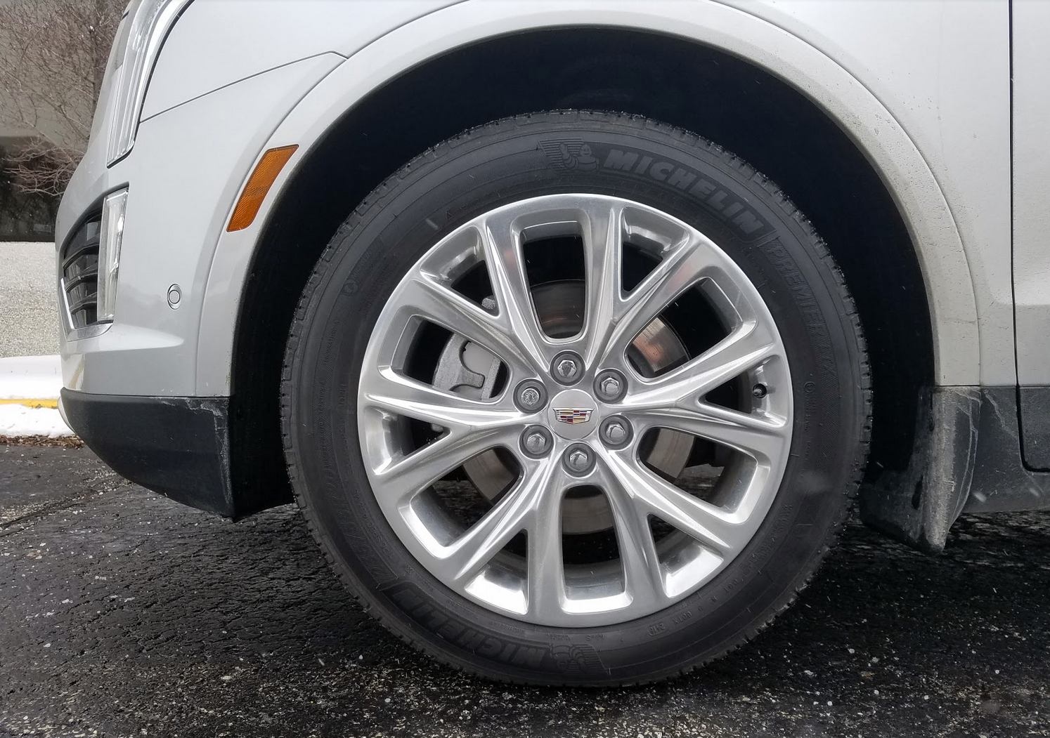 Slurry Polished Cadillac Wheels