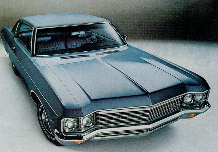 1970 Chevrolet Impala, Classic Ads From 1970