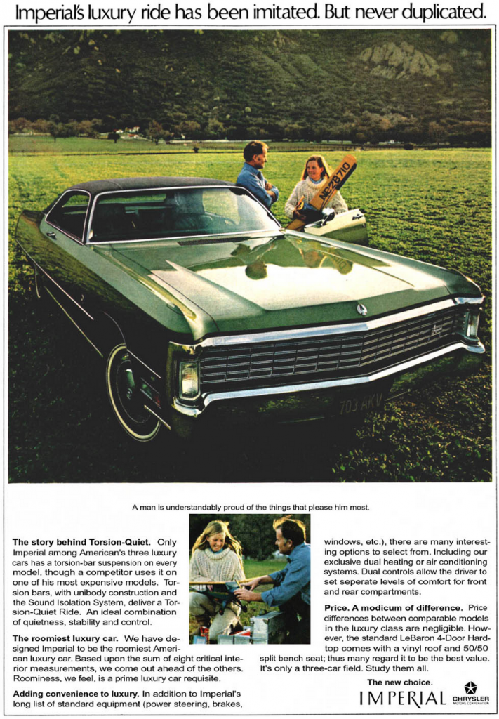 1970 Chrysler Ad