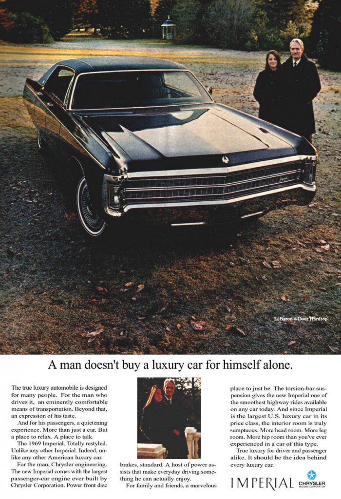 1969 Imperial Ad