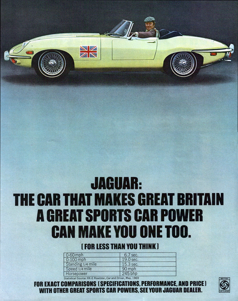 Model Year Madness 10 Classic Ads From 1970 The Daily