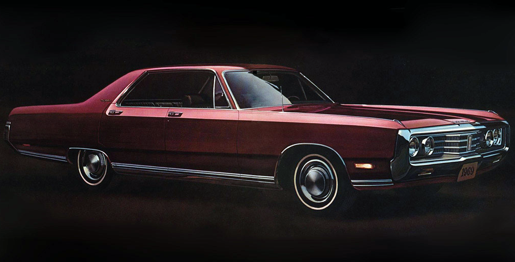 1969 Chrysler New Yorker Hardtop