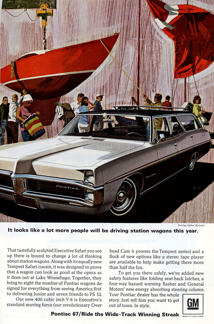 1967 Pontiac Executive Safari Ad