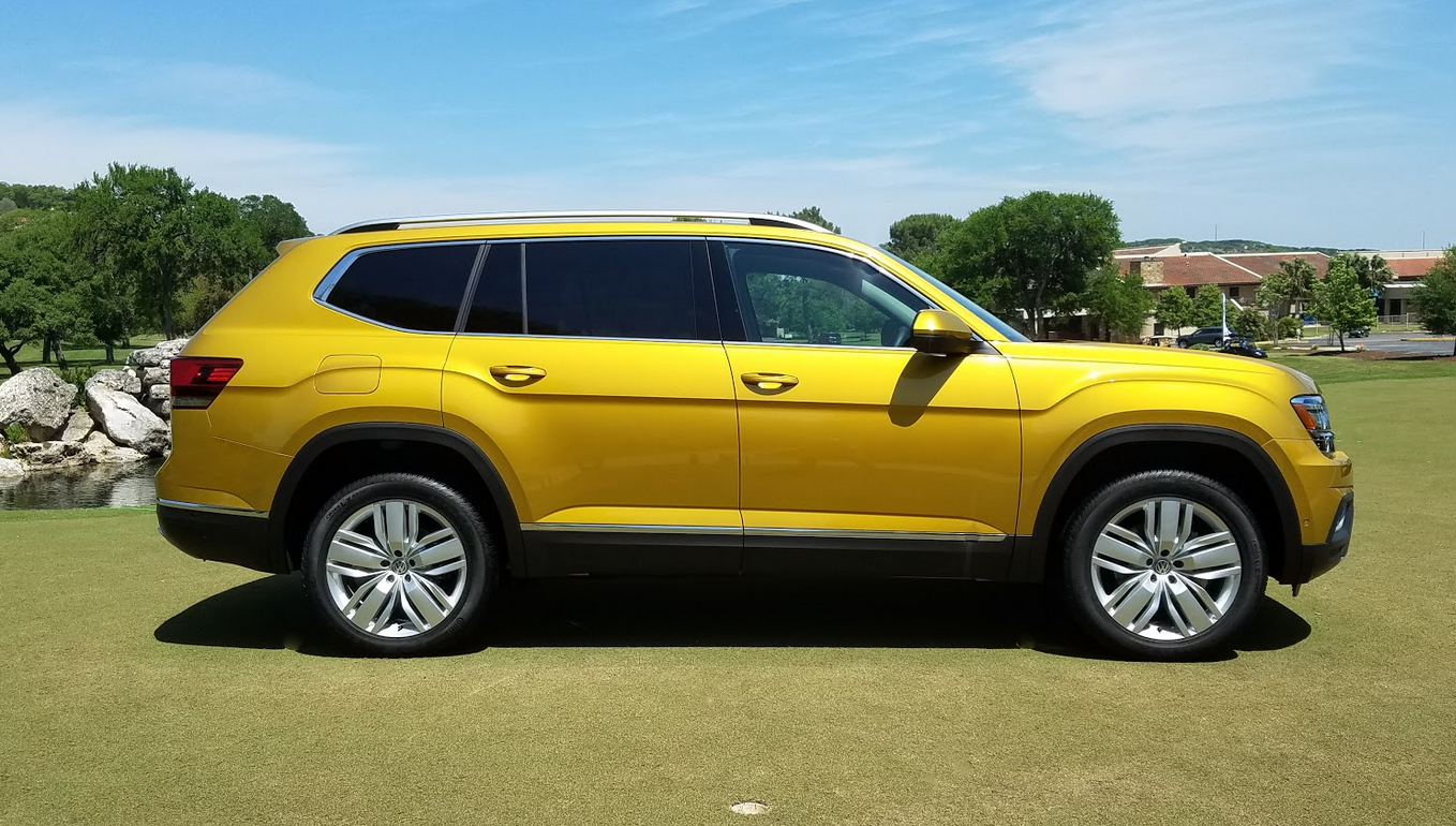 2018 VW Atlas, profile
