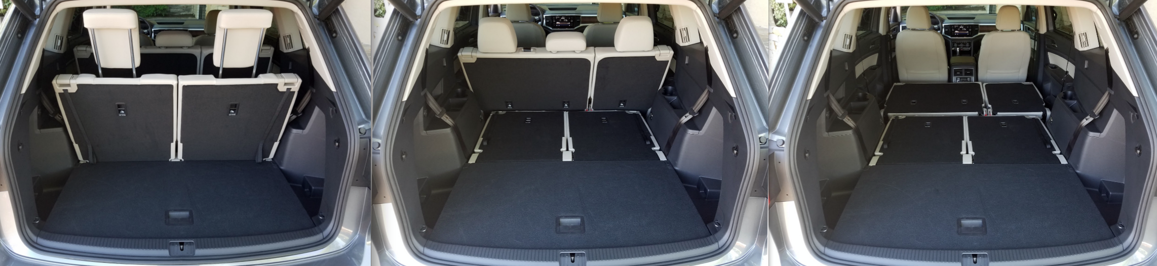 VW Atlas cargo area
