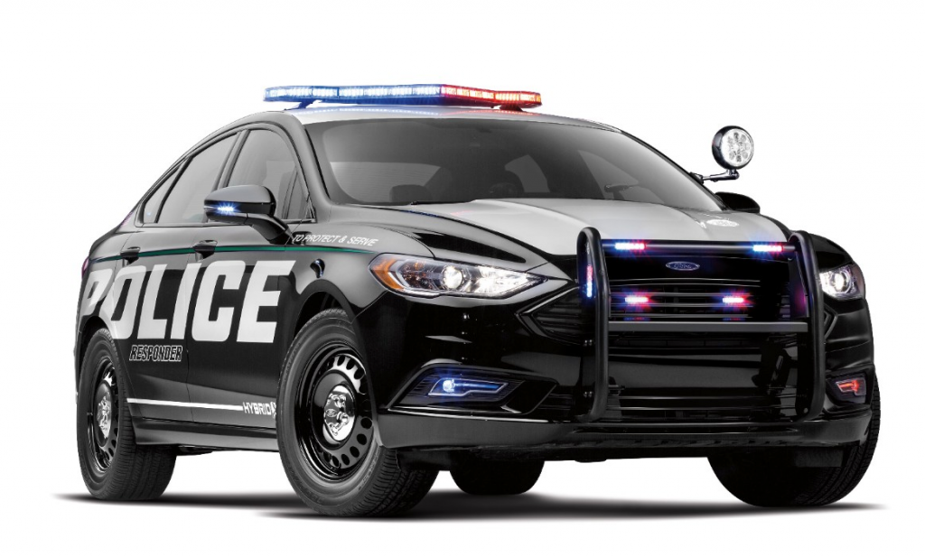 2017 New York Auto Show 2018 Ford Police Responder Hybrid Sedan