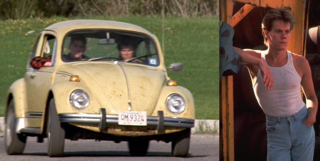 Kevin Bacon, Footloose - Beetles in Movies