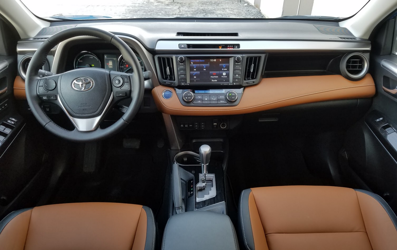 2017 toyota rav4 hybrid limited the daily drive consumer guide. Black Bedroom Furniture Sets. Home Design Ideas