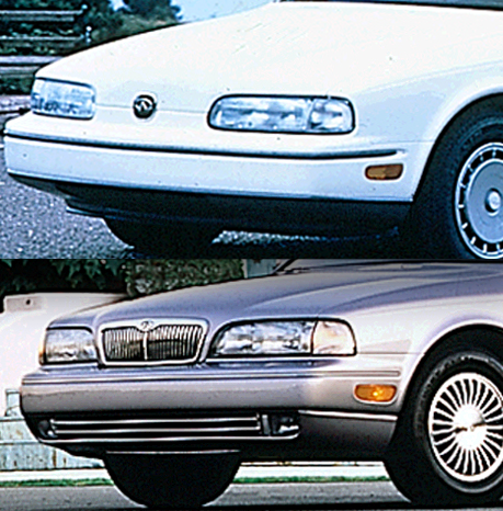 Q45 with and without grille