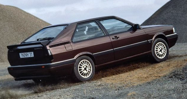 1986 Audi Coupe GT
