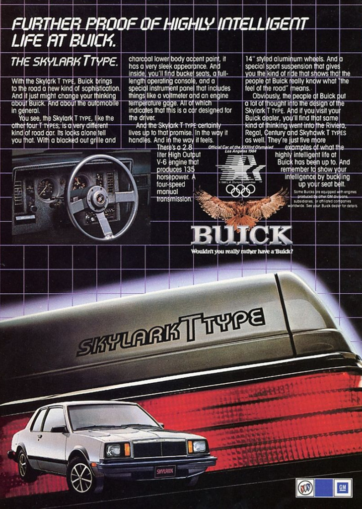 2017 Buick Grand National >> Badge-Engineering Madness! 10 Classic X-Car Ads | The ...