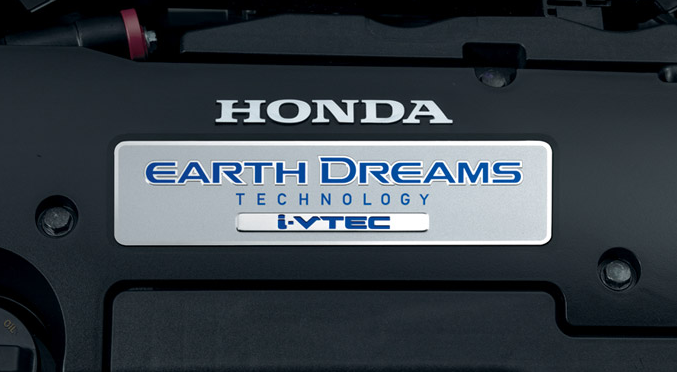 Honda Earth Dreams badge