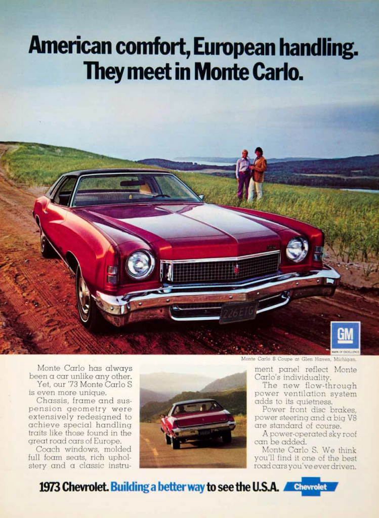 Model Year Madness 10 Classic Coupe Ads From 1973 The