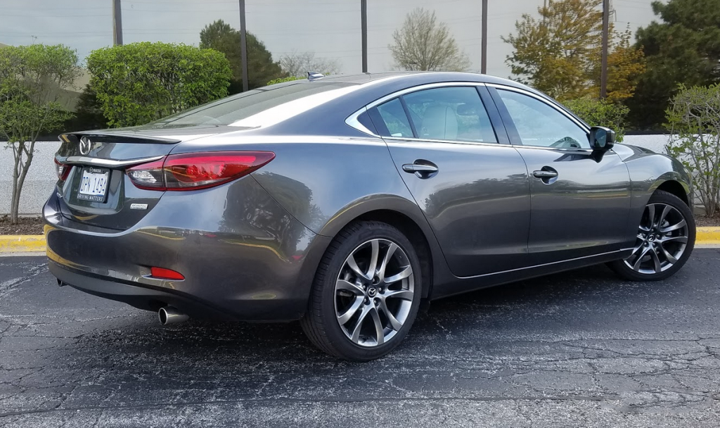 2017 Mazda 6 Machine Gray Metallic, 2017 Mazda 6 i Grand Touring