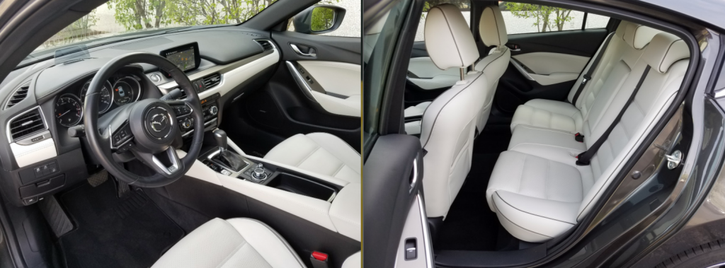 2017 Mazda 6, Parchment Nappa Leather