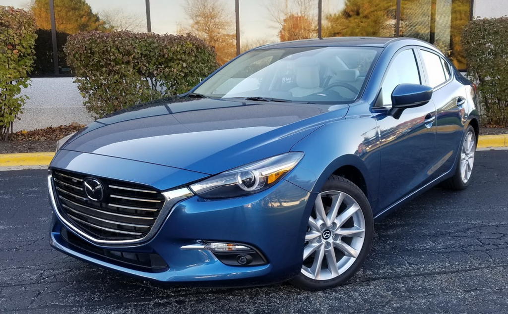 2017 Mazda 3 Grand Touring in Eternal Blue Mica