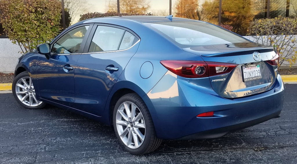 2017 Mazda 3 in Eternal Blue