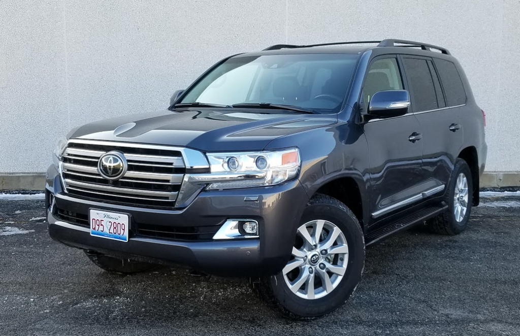 2017 Toyota Land Cruiser in Magnetic Gray Metallic