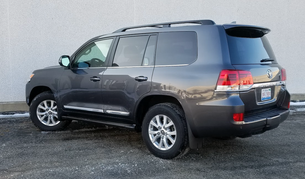 2017 Land Cruiser in Magnetic Gray Metallic