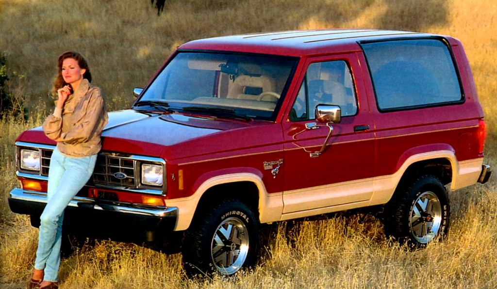 1987 Ford Bronco II, Compact SUVs of 1987