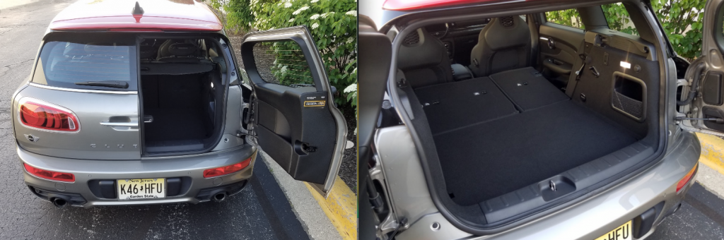 2017 Mini Clubman Cargo Area