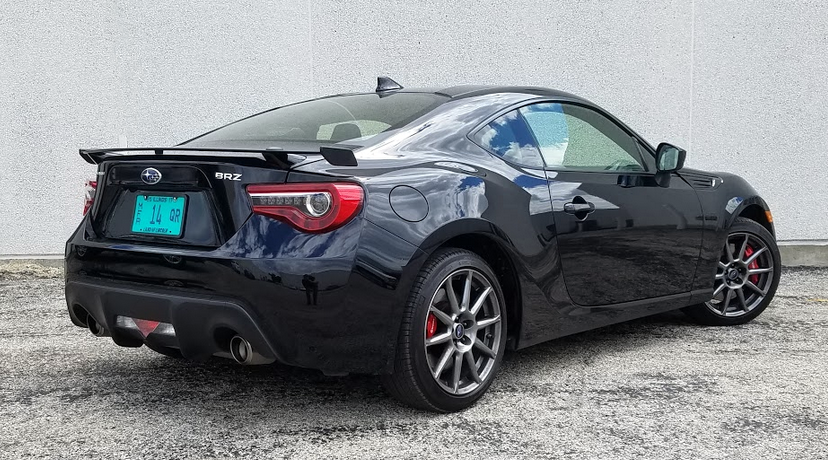 2017 Subaru BRZ in Crystal Black Silica