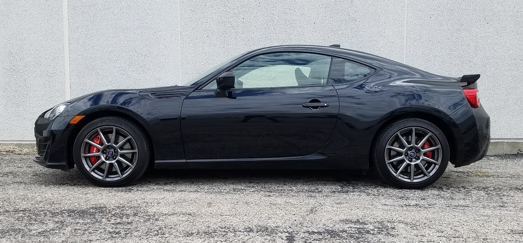 2017 Subaru BRZ Limited Crystal Black Silica