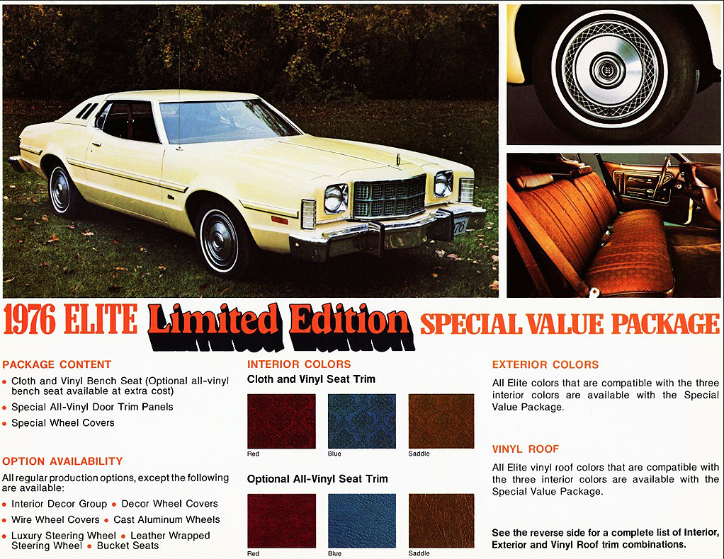 1976 Ford Elite Limited Edition