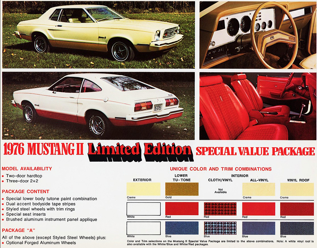 1976 Ford Mustang Limited Edition