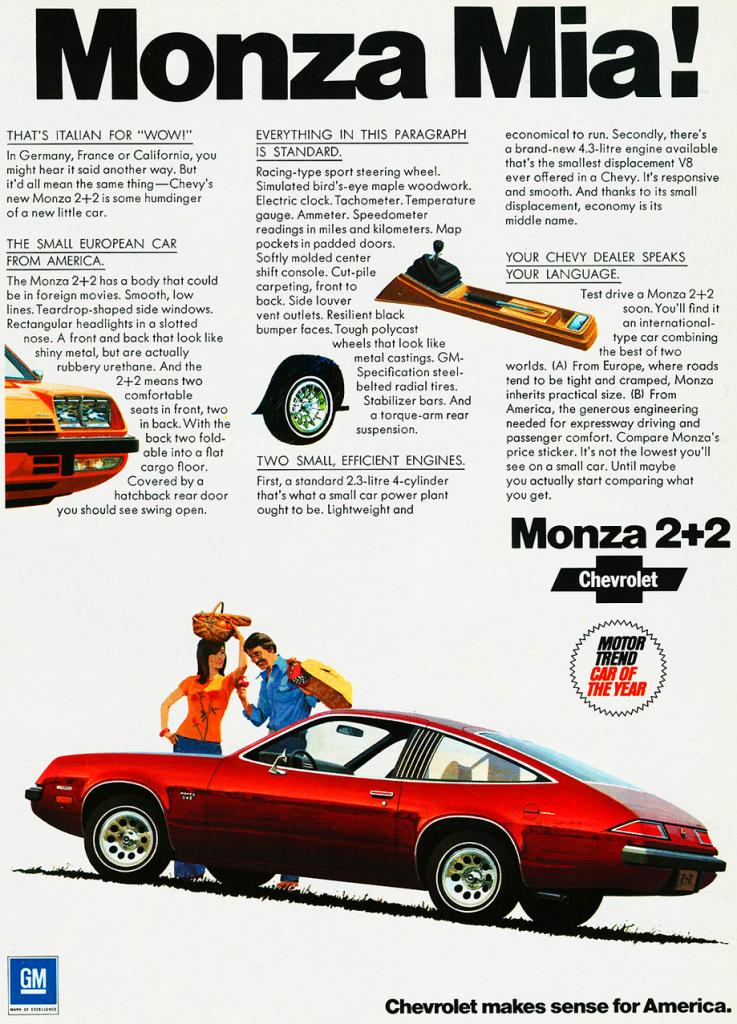 Model-Year Madness! 10 Classic Ads From 1975 | The Daily ...