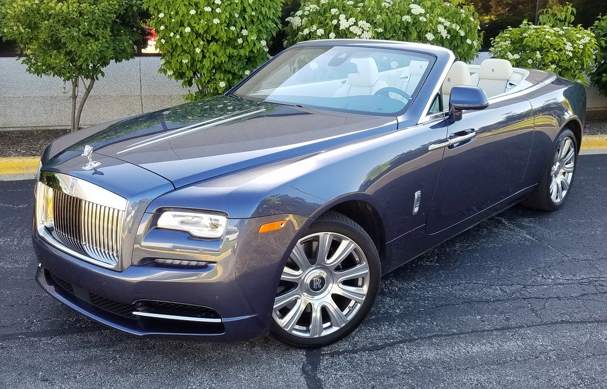 2017 Rolls-Royce Dawn in Iguazu Blue
