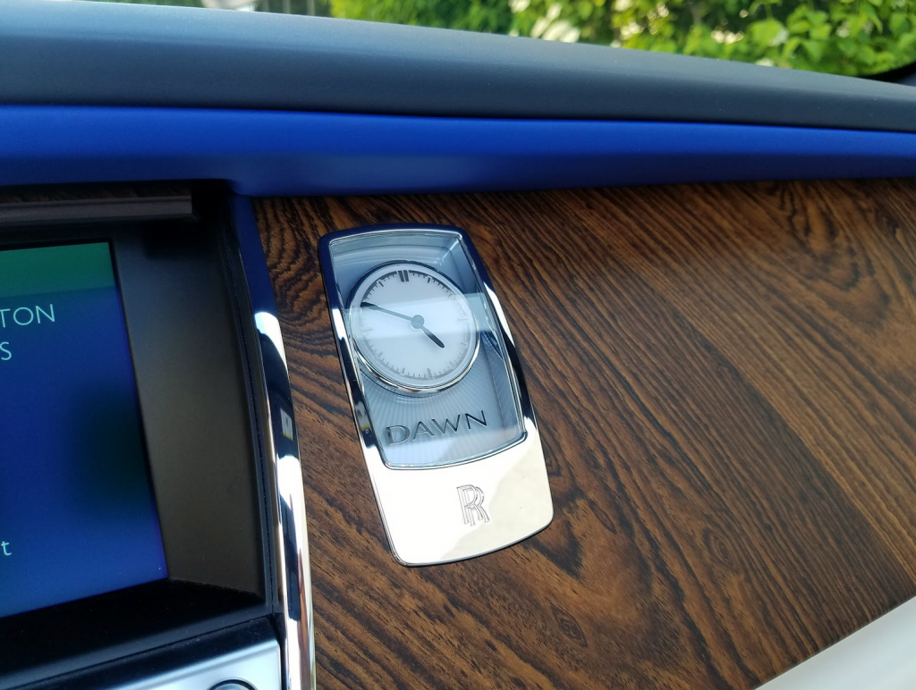 Rolls-Royce Dash Clock