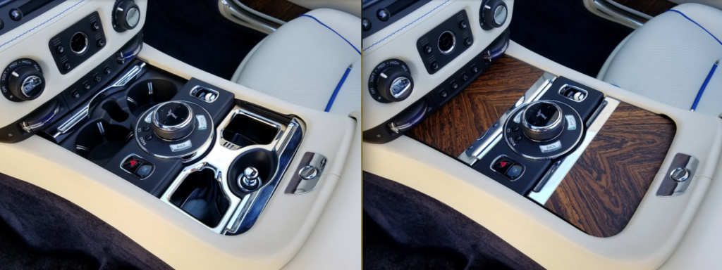 Rolls-Royce Dawm Center Console, Wood